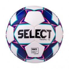 Мяч футбольный Select Tempo TB IMS №5 White/Blue/Violet