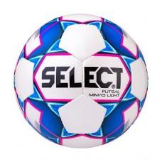 Мяч футзальный Select Futsal Mimas Light 852613 №4 White/Blue/Pink