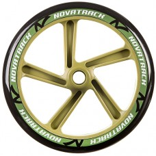 Колесо для самоката Novatrack 1шт 230мм Х76782 Green