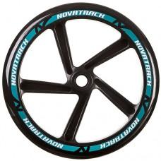 Колесо для самоката Novatrack 1шт 250мм Х76783 Black/Blue