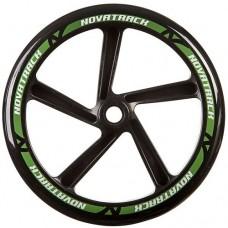 Колесо для самоката Novatrack 1шт 250мм Х76783 Black/Green