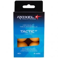 Мяч для настольного тенниса Roxel Tactic 1* 6 шт orange