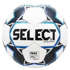 Мяч футбольный Select Contra IMS №5 812310 white/black/blue