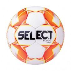 Мяч футзальный Select Futsal Copa №4 850318 white/orange/yellow