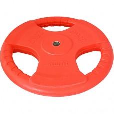 Диск обрезиненный Starfit BB-201 (25 кг) red