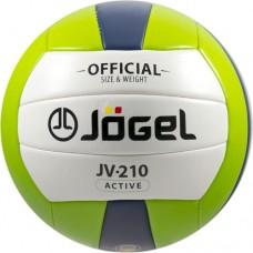Мяч волейбольный Jogel JV-210 green/dark blue
