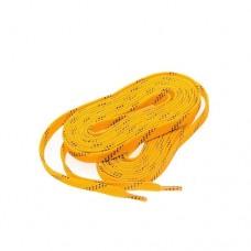 Шнурки для хоккейных коньков RGX-LCS01 yellow р-р 274 см