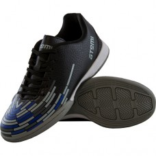 Бутсы футбольные Atemi Indoor black/blue/gray SD400 р-р 30