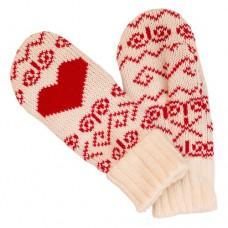 Рукавицы женские SportCool 287/1 White/Red