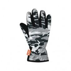 Перчатки Wind X-Treme Gloves plain Gloves plain перчатки 171 camouflage black р-р M