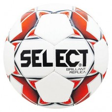 Мяч футбольный Select Brillant Replica р.5 811608-003 White/Red/Grey