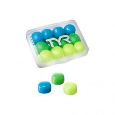 Беруши TYR Kids' Soft Silicone Ear Plugs LEPY12PK/970 Multicolour