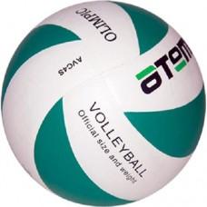 Мяч волейбольный Atemi Olimpic white/green