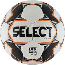 Мяч футбольный Select Super FIFA №5 812117 white/grey/orange