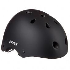 Защитный шлем STG MTV12 С фикс. застежкой Х89048 Black р-р XS(48-52)