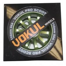 Колеса для трюкового самоката Vokul 110 мм green