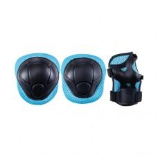 Комплект защиты для роликов Ridex Tot blue р-р S