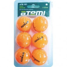 Мячи для настольного тенниса Atemi 1* ATB101 (6шт)