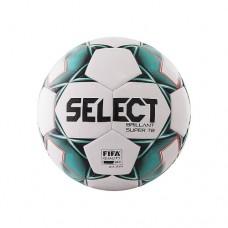 Мяч футбольный Select Brillant Super Fifa №5 810108 white/green/black