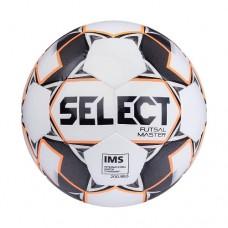 Мяч футзальный Select Futsal Master IMS №4 852508 white/orange/black
