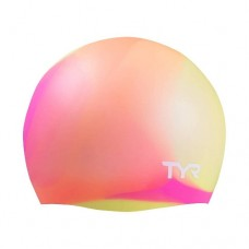 Детская шапочка для плавания TYR Tie Dye Junior Swim Cap LCSJRTD/173 orange