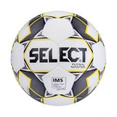 Мяч футзальный Select Futsal Master IMS №4 852508 white/yellow/black