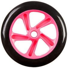 Колесо для самоката Novatrack 1шт 200мм Х76781 Pink