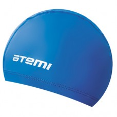Шапочка для бассейна (плавания) Atemi PU 51 blue