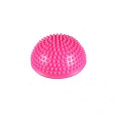 Полусфера балансировочная массажная Body Form BF-P03 pink