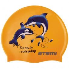 Шапочка для бассейна (плавания) Atemi PSC401