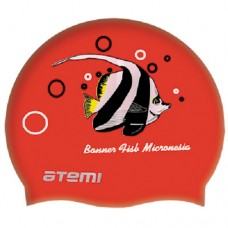 Шапочка для бассейна Atemi PSC404