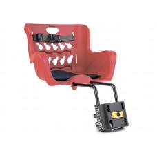 Детское велокресло Bellelli Pulcino B-Fix red NBE80993