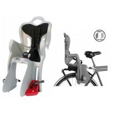 Велокресло для детей Bellelli B-one Clamp silver NBE80019