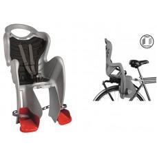 Детское велокресло Bellelli Mr Fox Clamp silver NBE80069