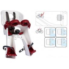 Детское велокресло Bellelli Freccia B-Fix white NBE80264