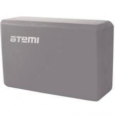Блок для йоги Atemi AYB01GY grey