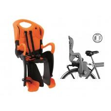 Велокресло для детей Bellelli Tiger Clamp NBE80195 black/orange