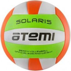 Мяч волейбольный Atemi Solaris green/white/orange