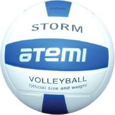 Мяч волейбольный Atemi Storm white/blue