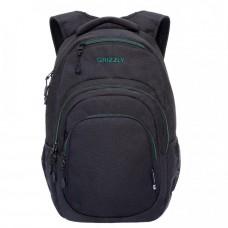 Городской рюкзак GRIZZLY RQ-003-3 /2 black/turquoise