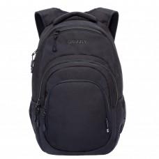 Городской рюкзак GRIZZLY RQ-003-3 /4 black/grey