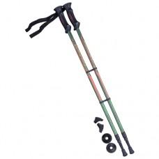 Палки для скандинавской ходьбы Berger Longway 77-135 dark green/orange