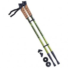 Палки для скандинавской ходьбы Berger Forester 67-135 yellow/green