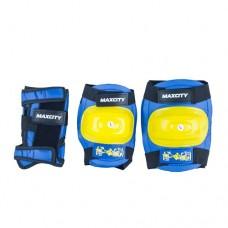 Комплект защиты для роликовых коньков Maxcity Little Rabbit Blue р-р S