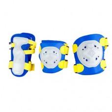 Комплект защиты для роликовых коньков Maxcity Game Blue р-р L