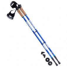 Палки для скандинавской ходьбы Berger Rainbow 77-135 blue
