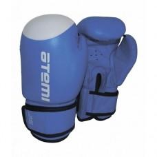 Боксерские перчатки Atemi LTB19009 Blue/White р-р 10 oz.