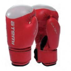 Боксерские перчатки Atemi LTB19009 Red/White р-р 10 oz.