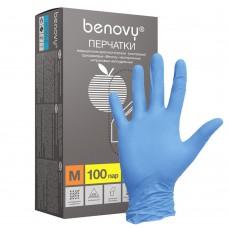 AVIORA Перчатки нитриловые, размер м.